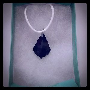 Jewelry - Shadow Black Crystal Pear Necklace